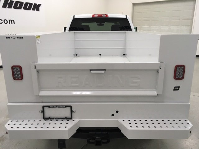 2018 Silverado 2500 Crew Cab 4x4, Reading Service Body #180238 - photo 3