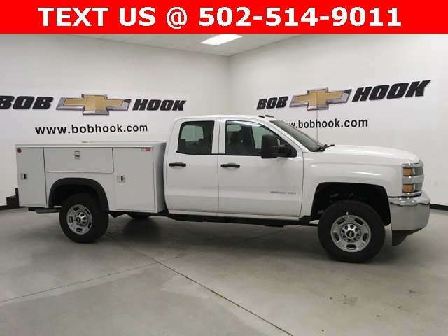 2018 Silverado 2500 Double Cab, Monroe Service Body #180275 - photo 3