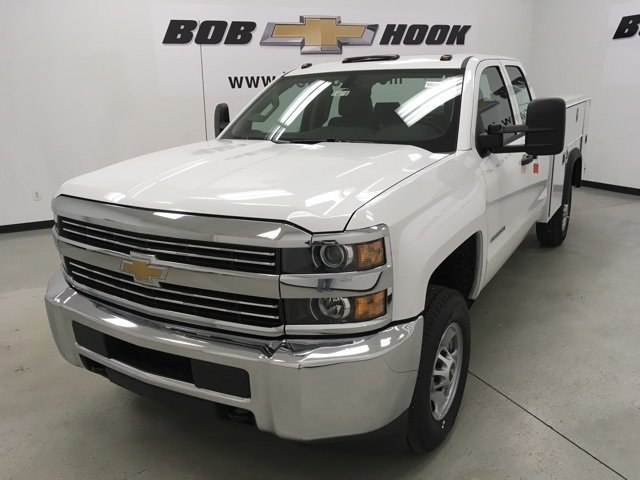 2018 Silverado 2500 Extended Cab, Monroe Service Body #180275 - photo 7