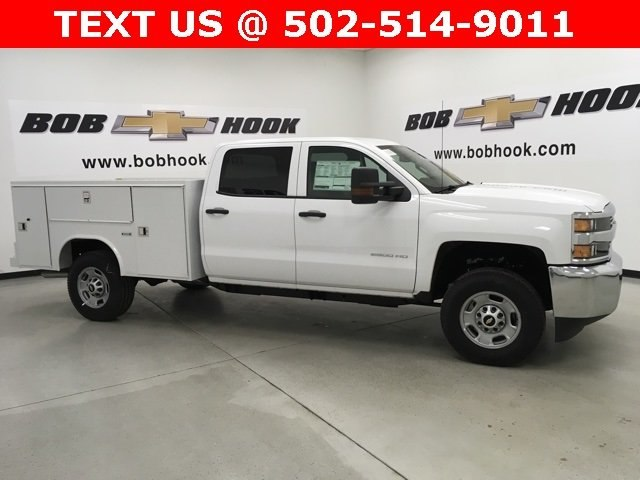 2018 Silverado 2500 Extended Cab 4x4, Reading SL Service Body Service Body #180291 - photo 3