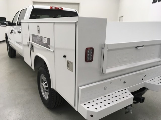 2018 Silverado 2500 Double Cab 4x4, Reading Service Body #180291 - photo 5