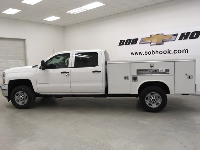 2018 Silverado 2500 Double Cab 4x4, Reading Service Body #180291 - photo 6