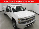 2018 Silverado 2500 Double Cab 4x4, Reading Service Body #180291 - photo 1