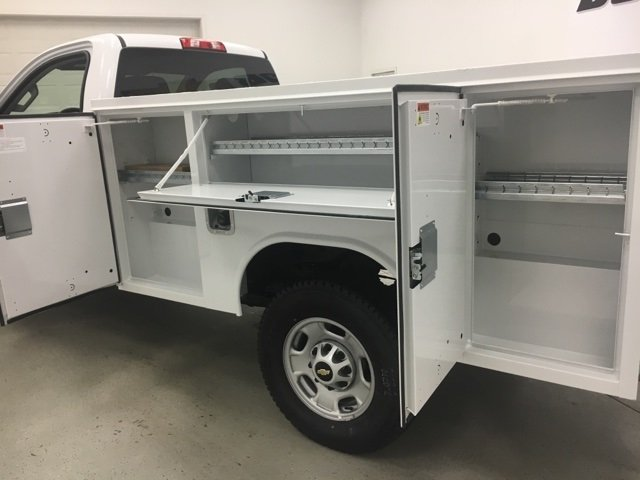 2018 Silverado 2500 Regular Cab 4x4, Reading SL Service Body #180302 - photo 17