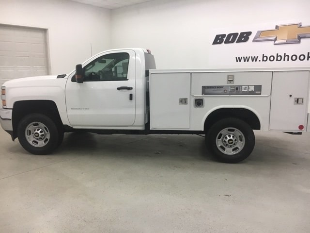 2018 Silverado 2500 Regular Cab 4x4, Reading Service Body #180302 - photo 4