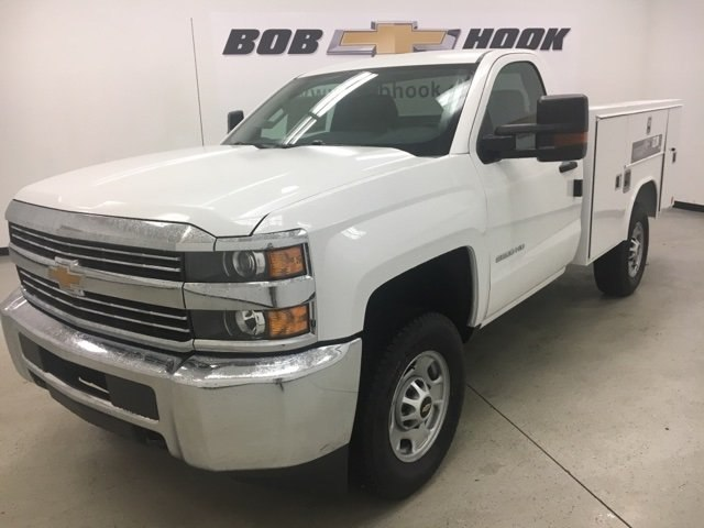 2018 Silverado 2500 Regular Cab 4x4, Reading SL Service Body #180302 - photo 1