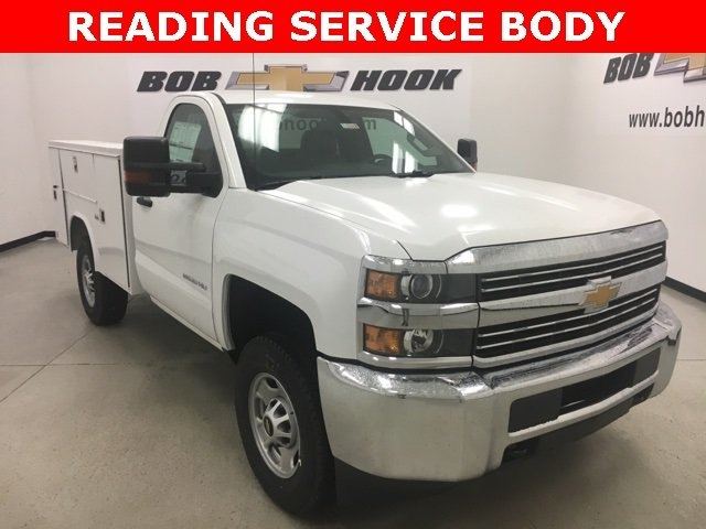 2018 Silverado 2500 Regular Cab 4x4, Reading Service Body #180302 - photo 18