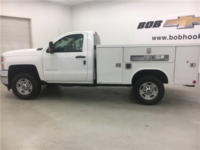 2018 Silverado 2500 Regular Cab 4x4, Reading SL Service Body #180302 - photo 4