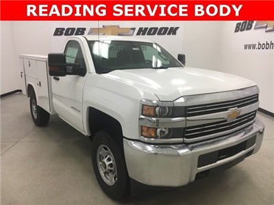 2018 Silverado 2500 Regular Cab 4x4, Reading SL Service Body #180302 - photo 18
