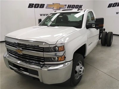 2018 Silverado 3500 Regular Cab DRW, Cab Chassis #180319 - photo 1