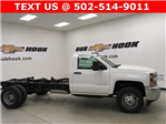2018 Silverado 3500 Regular Cab DRW, Cab Chassis #180319 - photo 15