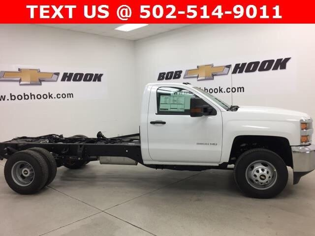 2018 Silverado 3500 Regular Cab DRW Cab Chassis #180324 - photo 4