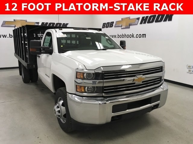 2018 Silverado 3500 Regular Cab DRW, Monroe Stake Bed #180379 - photo 18
