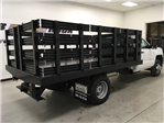 2018 Silverado 3500 Regular Cab DRW, Monroe Stake Bed #180379 - photo 1