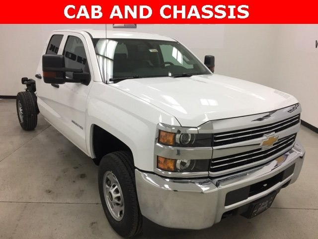 2018 Silverado 2500 Extended Cab Cab Chassis #180385 - photo 18