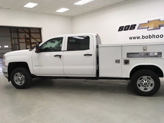 2018 Silverado 2500 Crew Cab 4x4, Reading Service Body #180421 - photo 7