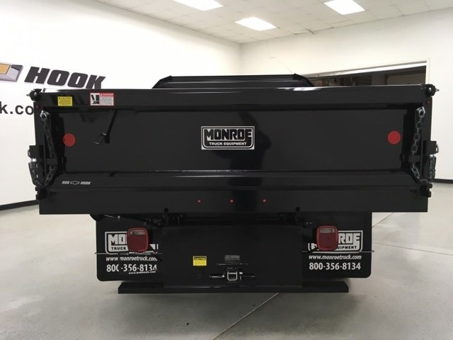 2018 Silverado 3500 Regular Cab DRW 4x4, Monroe Dump Body #180493 - photo 3
