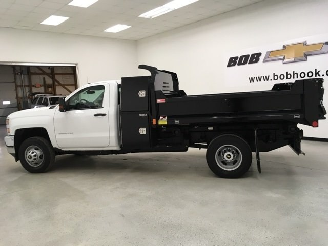 2018 Silverado 3500 Regular Cab DRW 4x4, Monroe Dump Body #180493 - photo 5