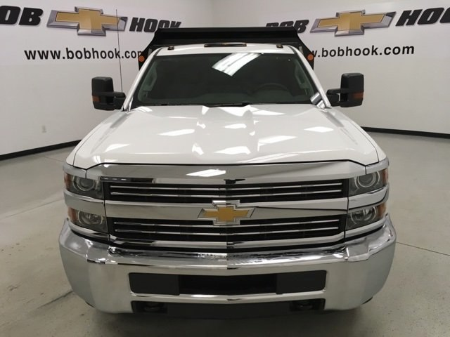 2018 Silverado 3500 Regular Cab DRW 4x4, Monroe Dump Body #180493 - photo 7