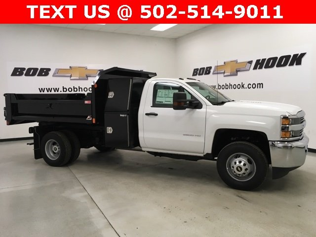 2018 Silverado 3500 Regular Cab DRW 4x4, Monroe Dump Body #180493 - photo 18