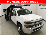 2018 Silverado 3500 Regular Cab DRW 4x4, Monroe Dump Body #180493 - photo 1