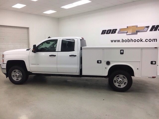 2018 Silverado 2500 Double Cab 4x4, Knapheide Service Body #180549 - photo 7