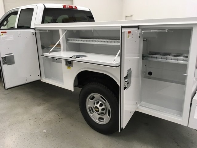 2018 Silverado 2500 Double Cab 4x4, Reading Service Body #180552 - photo 13