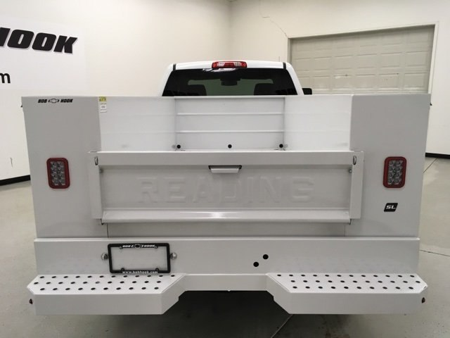 2018 Silverado 2500 Double Cab 4x4,  Reading Service Body #180552 - photo 4