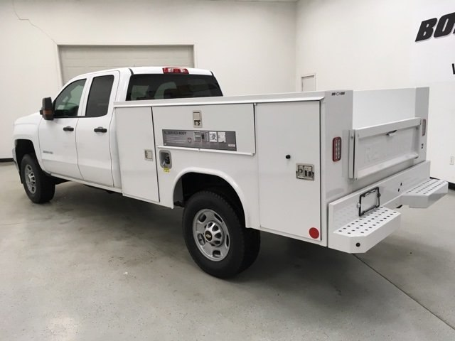 2018 Silverado 2500 Double Cab 4x4,  Reading Service Body #180552 - photo 2