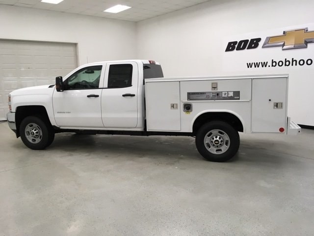 2018 Silverado 2500 Double Cab 4x4,  Reading Service Body #180552 - photo 5