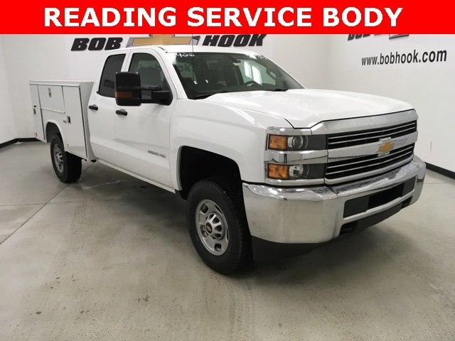 2018 Silverado 2500 Double Cab 4x4, Reading Service Body #180552 - photo 19
