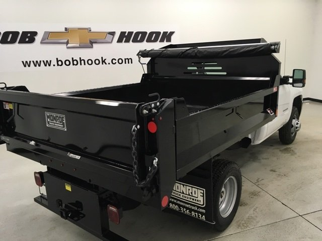 2018 Silverado 3500 Regular Cab DRW 4x4, Monroe Dump Body #180553 - photo 2