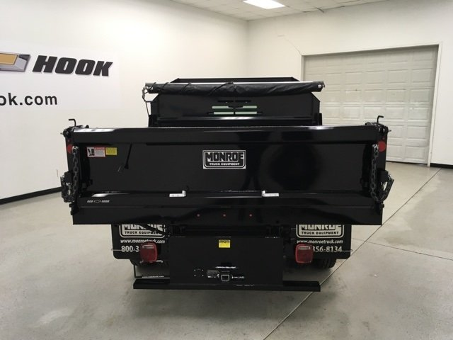 2018 Silverado 3500 Regular Cab DRW 4x4, Monroe Dump Body #180553 - photo 3