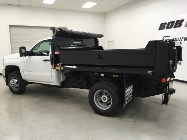 2018 Silverado 3500 Regular Cab DRW 4x4, Monroe Dump Body #180553 - photo 5