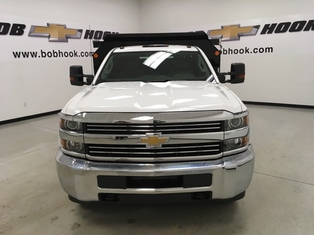 2018 Silverado 3500 Regular Cab DRW 4x4, Monroe Dump Body #180553 - photo 7