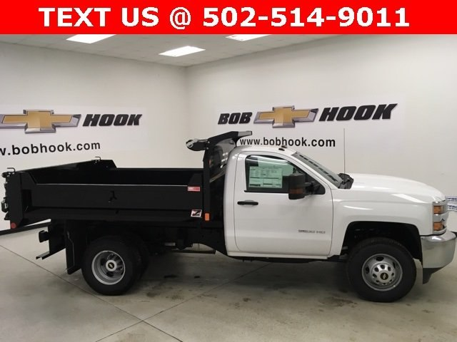 2018 Silverado 3500 Regular Cab DRW 4x4, Monroe Dump Body #180553 - photo 22