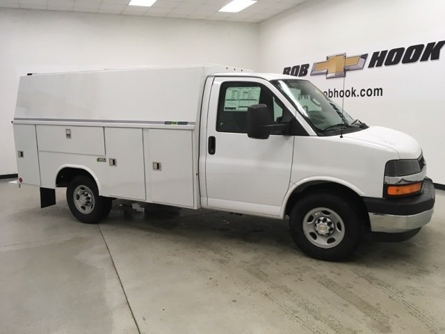 2018 Express 3500, Reading Aluminum CSV Service Utility Van #180569 - photo 3