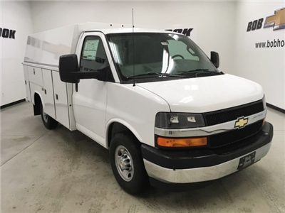 2018 Express 3500, Reading Aluminum CSV Service Utility Van #180569 - photo 1