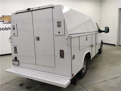 2018 Express 3500, Reading Aluminum CSV Service Utility Van #180569 - photo 2