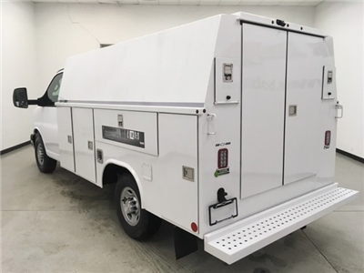 2018 Express 3500, Reading Aluminum CSV Service Utility Van #180569 - photo 5