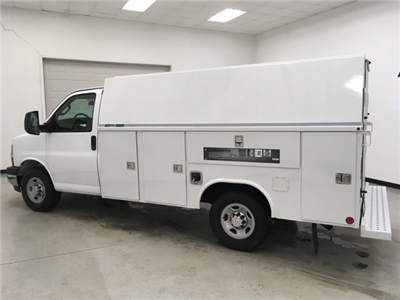 2018 Express 3500, Reading Aluminum CSV Service Utility Van #180569 - photo 6