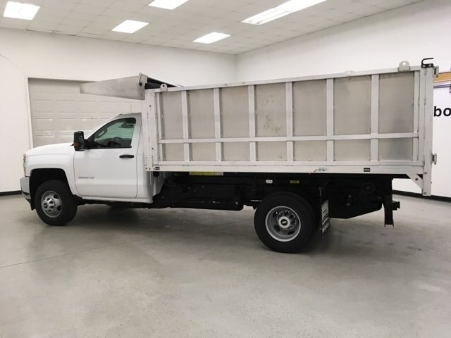 2018 Silverado 3500 Regular Cab DRW 4x4,  Monroe Landscape Dump #180639 - photo 5
