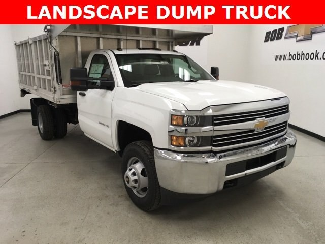 2018 Silverado 3500 Regular Cab DRW 4x4,  Monroe Landscape Dump #180639 - photo 21