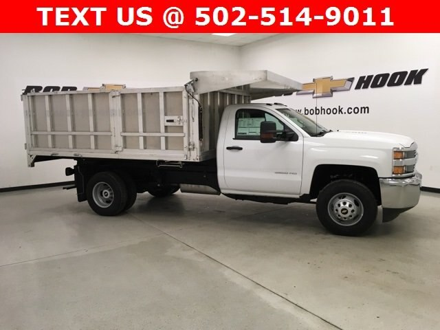 2018 Silverado 3500 Regular Cab DRW 4x4,  Monroe Landscape Dump #180639 - photo 22