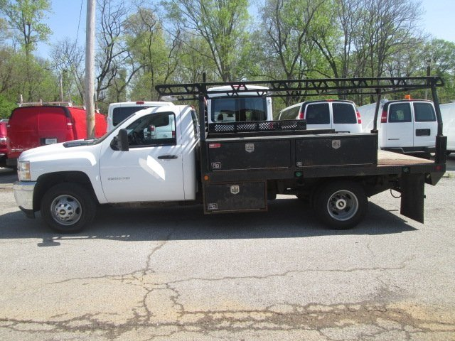 2012 Silverado 3500 Regular Cab, Platform Body #180690A - photo 3