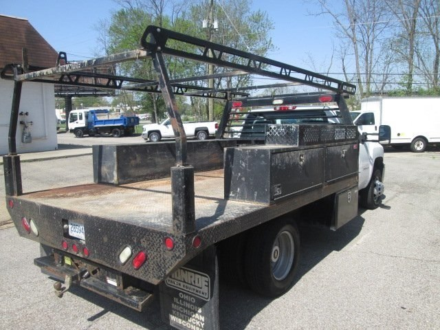 2012 Silverado 3500 Regular Cab, Platform Body #180690A - photo 6