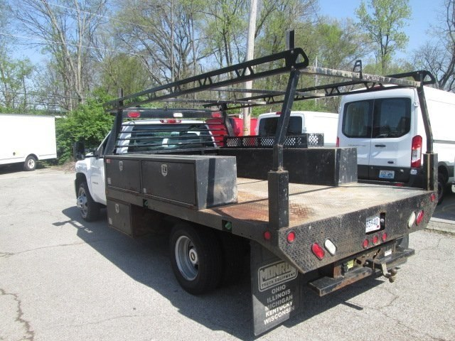 2012 Silverado 3500 Regular Cab, Platform Body #180690A - photo 2