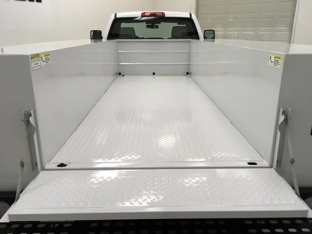 2018 Silverado 3500 Regular Cab DRW 4x4,  Monroe MSS II Service Body #180700 - photo 11