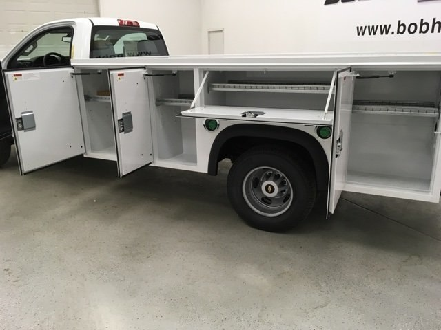 2018 Silverado 3500 Regular Cab DRW 4x4,  Monroe Service Body #180700 - photo 21