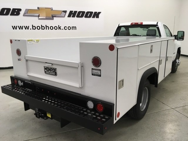 2018 Silverado 3500 Regular Cab DRW 4x4, Monroe Service Body #180700 - photo 4
